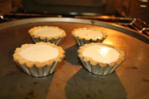 4 kicsi quiche lorraine sütés előtt