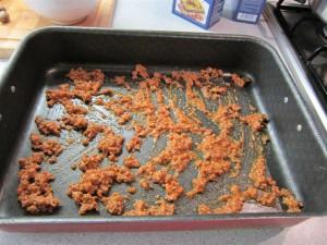 Bolognai lasagne elkészítése 3 - rétegzés tepsiben