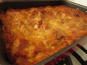 Bolognai lasagne elkészítése 10 - ropogósra sült a teteje