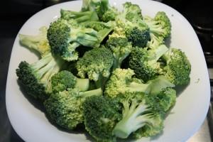 Rózsáira szedett brokkoli