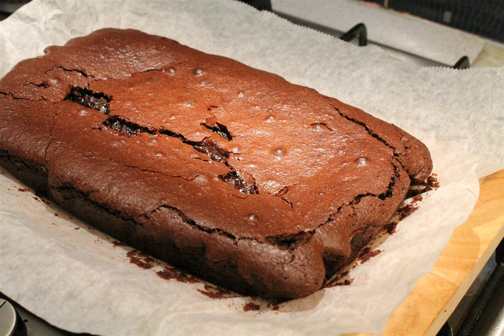 brownie jamie oliver recept