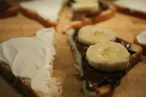 Bundáskenyér banánnal