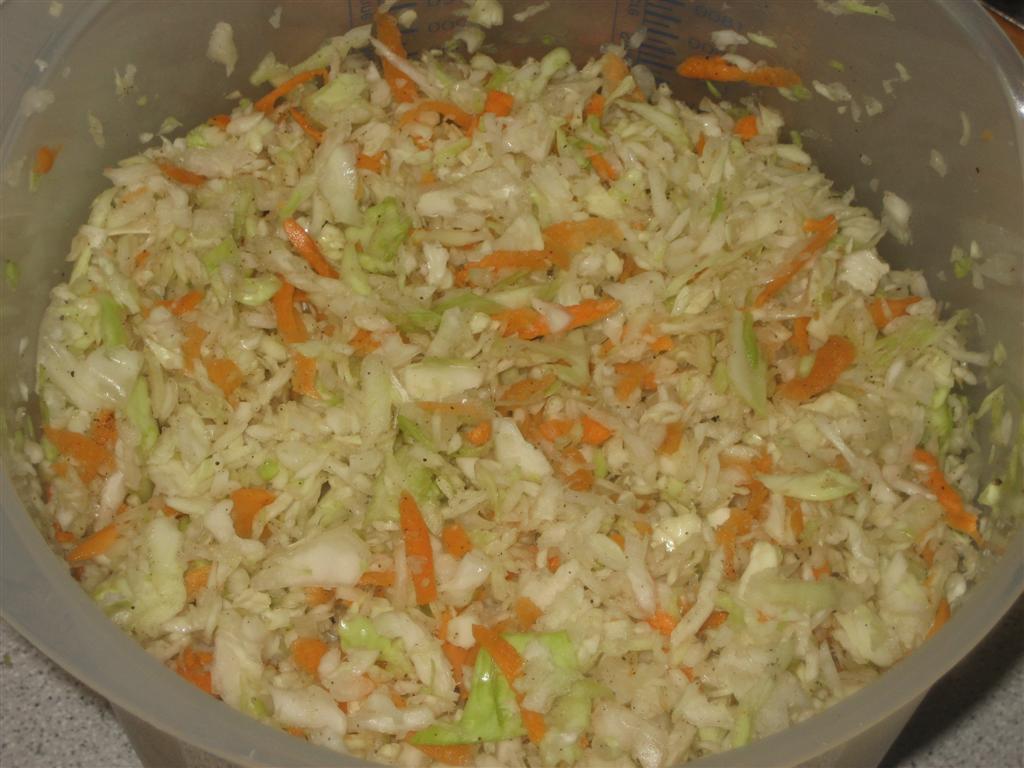 Amerikai káposztasaláta (coleslaw) készítése
