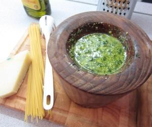 Pesto készítése házilag