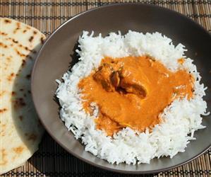 Indiai vajas csirke (murgh makhani)
