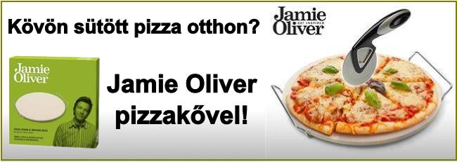 Flizor Konyha Jamie Oliver pizzakő banner