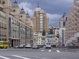 Kijevi utcakép