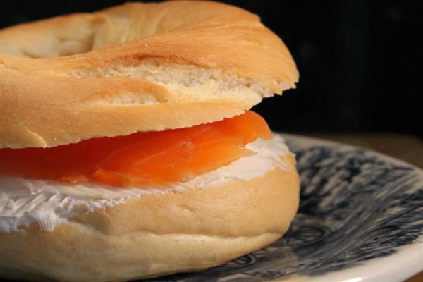 Lazacos krémsajtos bagel