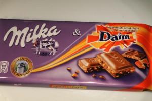 Milka Daim csoki