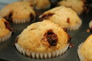 Milka Daim muffin