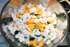 Minestrone recept: vágd kockákra a zöldségeket