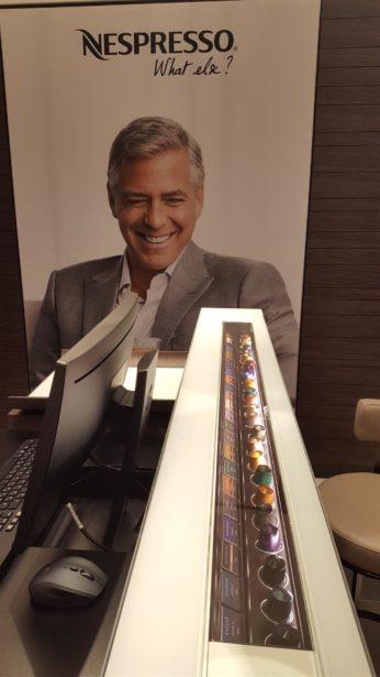 Nespresso Aréna Pláza George Clooney
