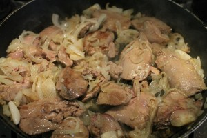 Olaszos csirkemáj recept: átsütött máj