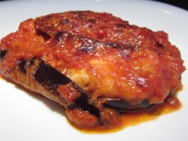 Parmigiana di melanzane - olasz rakott padlizsán