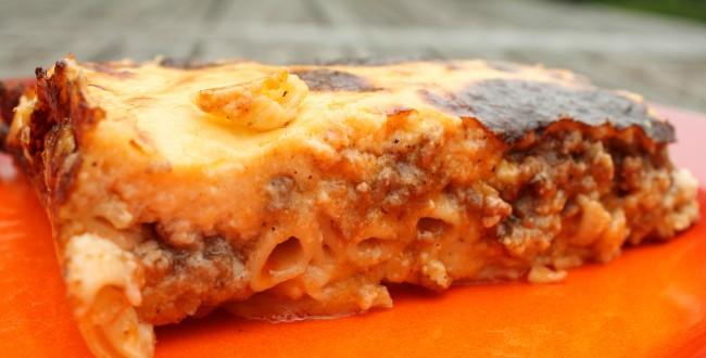 Pastitsio görög rakott tészta