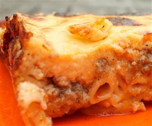 Görög rakott tészta – pastitsio, pasticcio