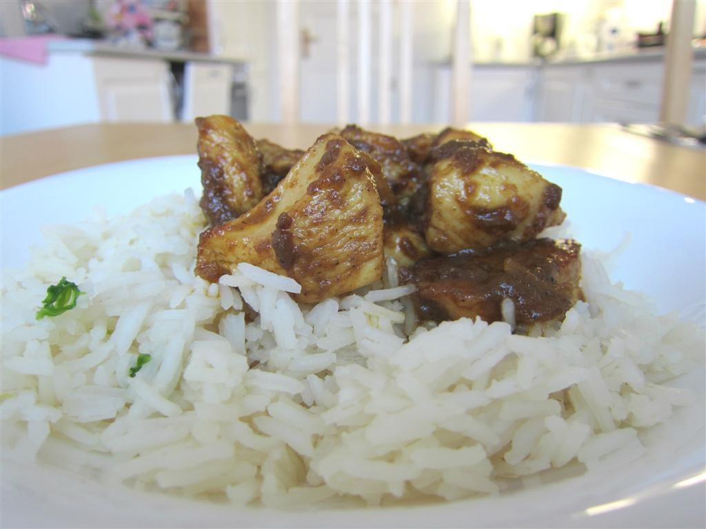 Csirke Rendang Curry