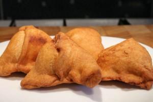 Zöldséges samosa