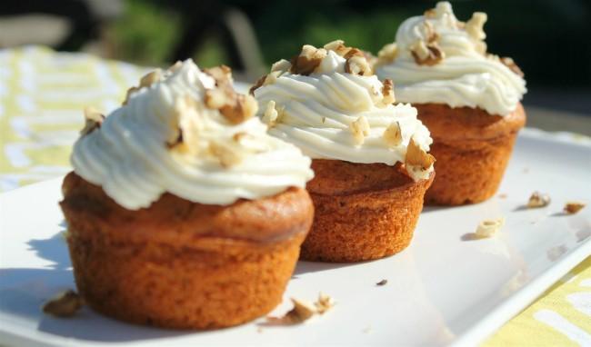 Sütőtökös muffin díszítéssel