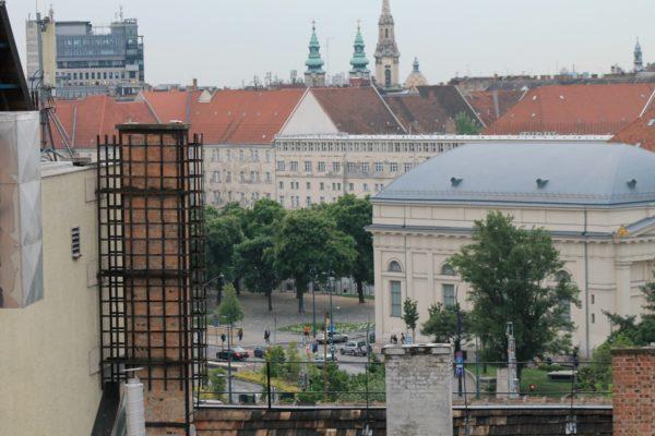 Aria Hotel Budapest High Note SkyBar kilátás Deák tér