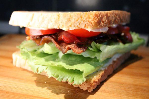 BLT szendvics
