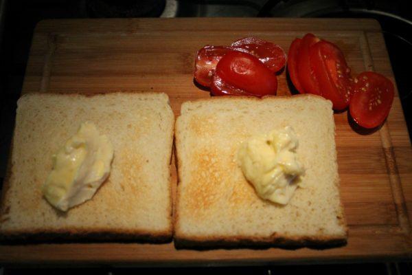 BLT szendvics készítése 2