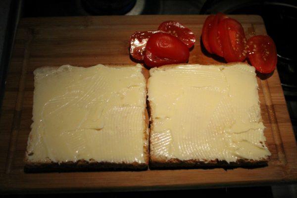 BLT szendvics készítése 3