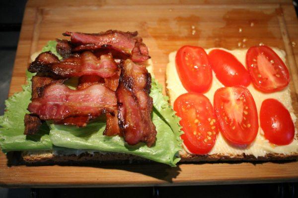 BLT szendvics készítése 4