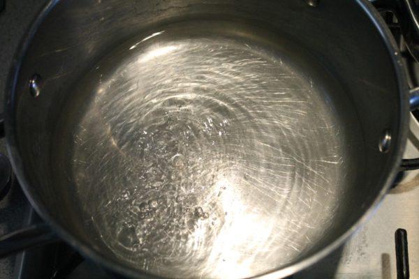 Bulgur elkészítése 1 - forró víz