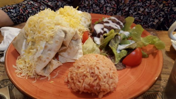 Calavera étterem burrito
