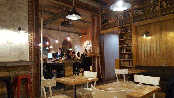 Calavera étterem Újpest (belülről)