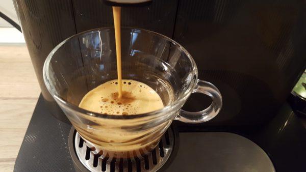 Cappuccino készítése - presszókávé