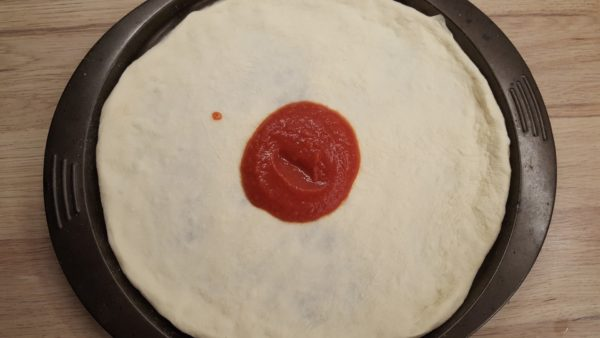 Capricciosa pizza recept 2