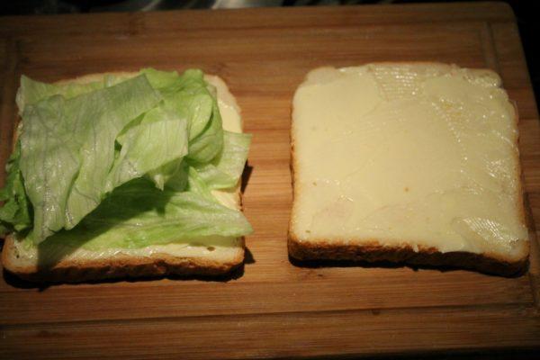 Club szendvics készítése 3