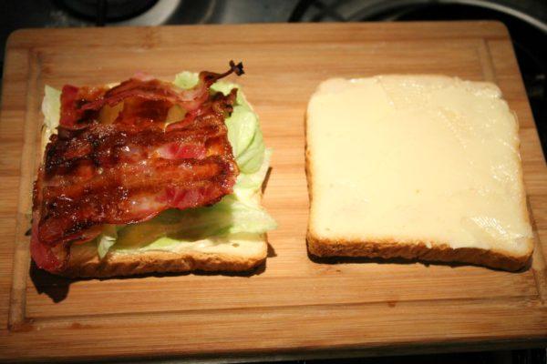 Club szendvics készítése 4