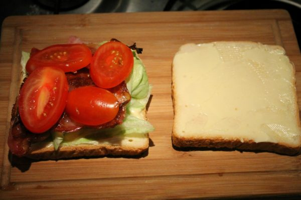 Club szendvics készítése 5