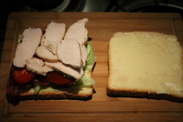 Club szendvics készítése 6