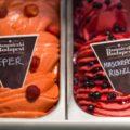 Damniczki fagylaltok: eper és mascarponés ribizli
