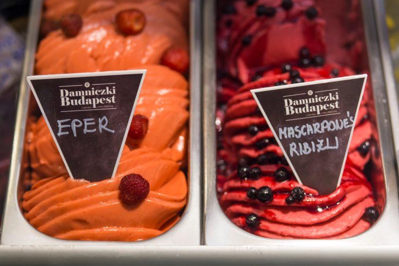 Damniczki fagyizó nyílt Budapesten