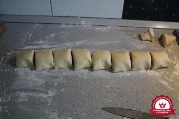 Dán fahéjas csiga készítése 13
