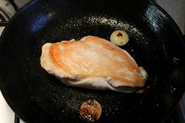 Egyben sült csirkemell készítése 3