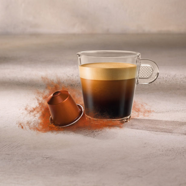 Nespresso Envivo Lungo Csészében