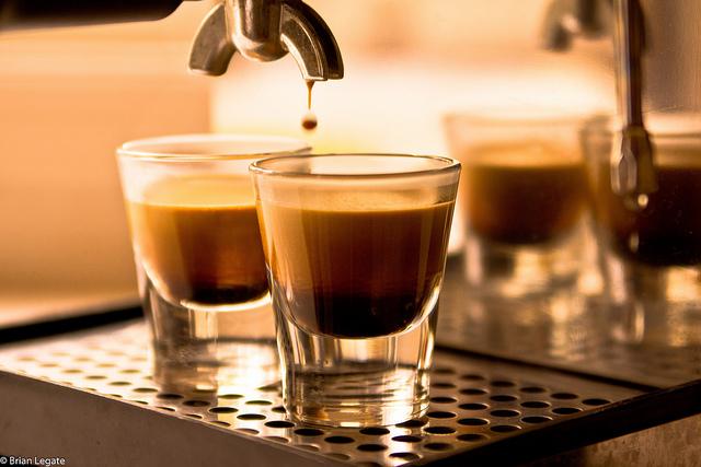 Espresso készítése