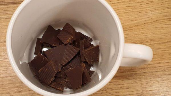 Forró csoki készítése 1