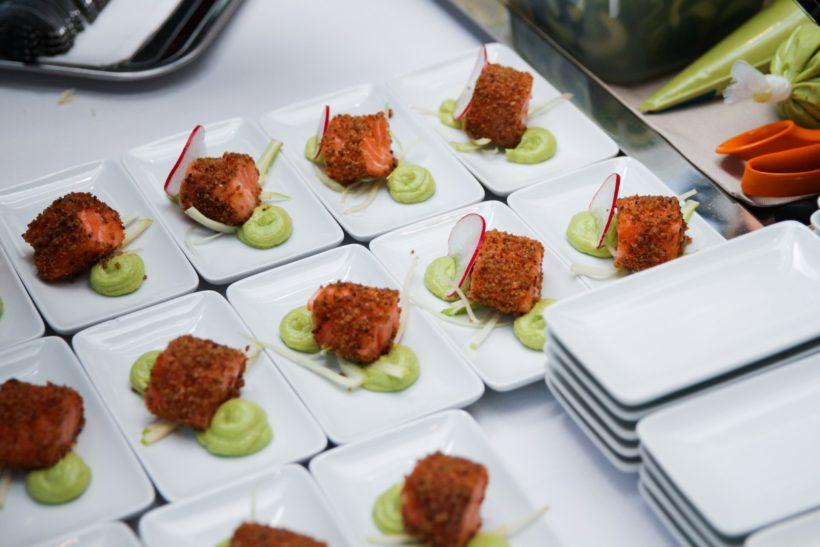 Norvég halak: Flying Culinary Circus az Aria Hotel High Note SkyBar étteremben