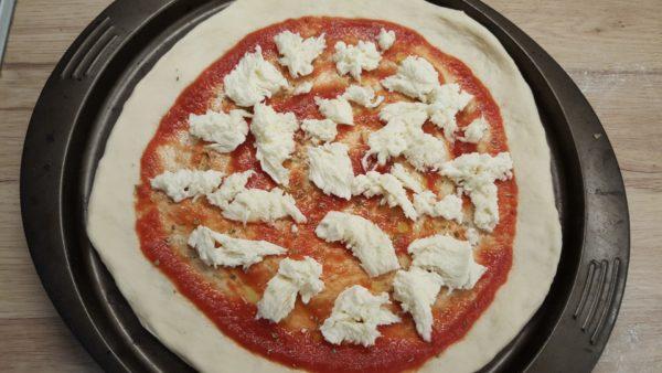 Gombás pizza recept 2