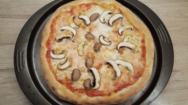 Gombás pizza recept 4