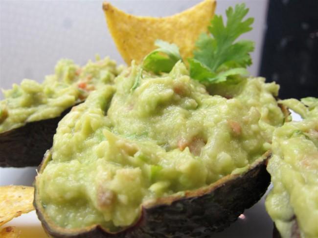 Mexikói avokádókrém (guacamole)