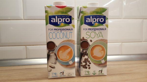 Habosítható növényi tejek
