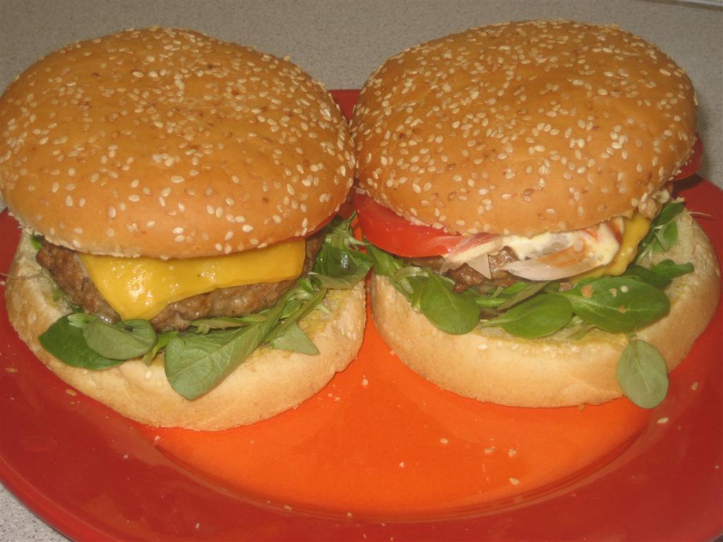 Hagyományos hamburger